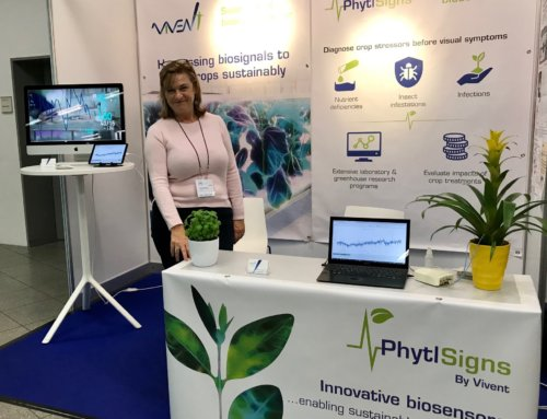 Vivent exhibit PhytlSigns and latest research findings at the Annual Biocontrol Industry Meeting, Basel, Switzerland